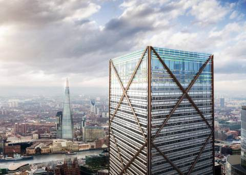 The planned new building called the Undershaft