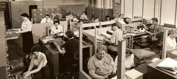 Office design 1950s