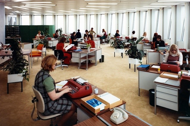 How office design has changed over the years loc8 for 70s office design