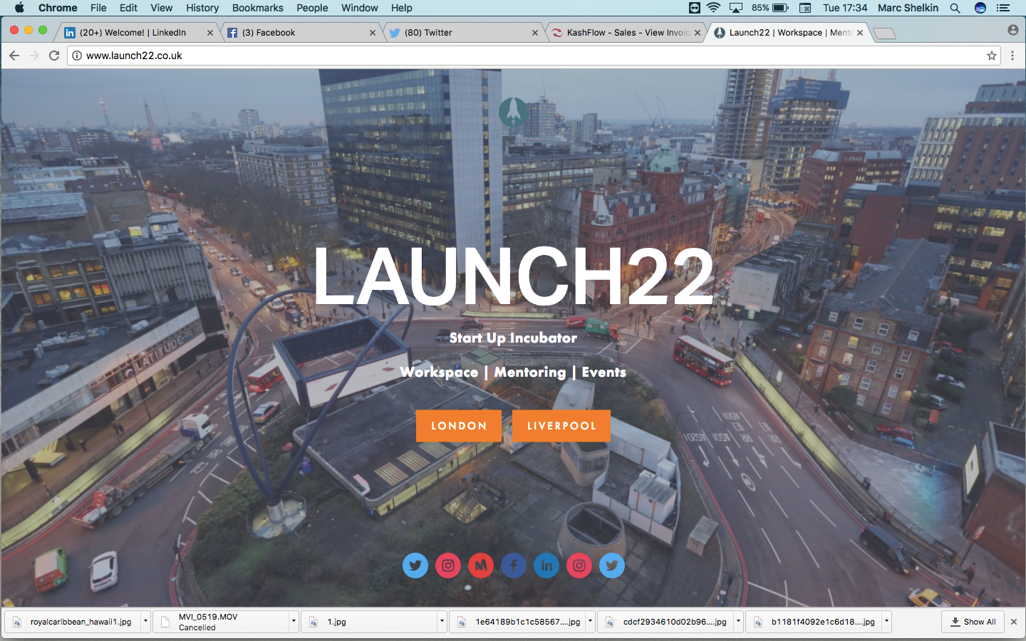 Workspace launch 22